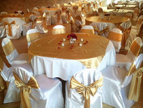 Gold overlays and sashes