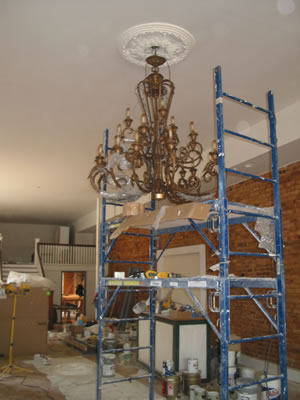 How to Install a Chandelier | Bloglines Answers